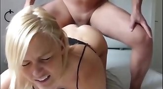 Blonde Teenage Painful Anal Fucking on Cam - LiveWebCamz.Com