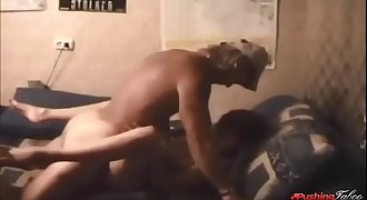 dad loves to fuck his daughter and does it right