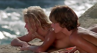 Daryl Hannah - nude sunbathing and naked swimming - Summer Lovers (1982)