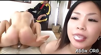 Oriental rimming and vagina playing